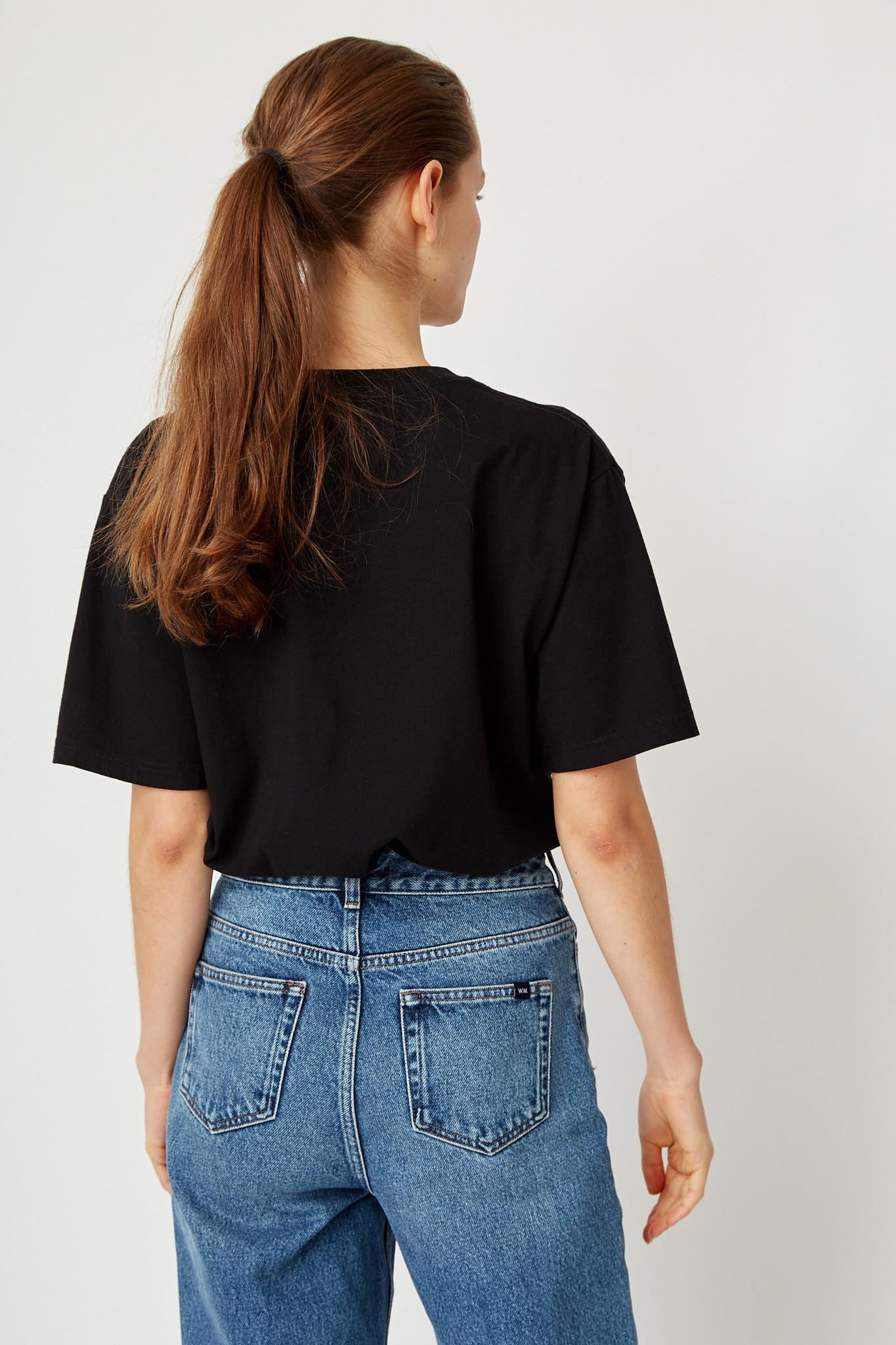 Info T-Shirt Black Unisex-8