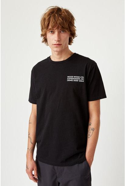 Info T-Shirt Black Unisex