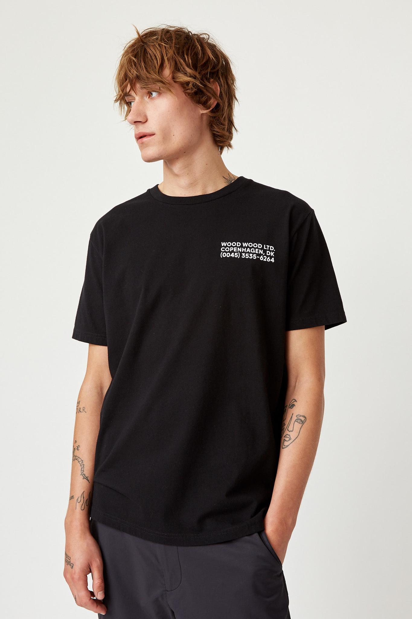 Info T-Shirt Black Unisex-9