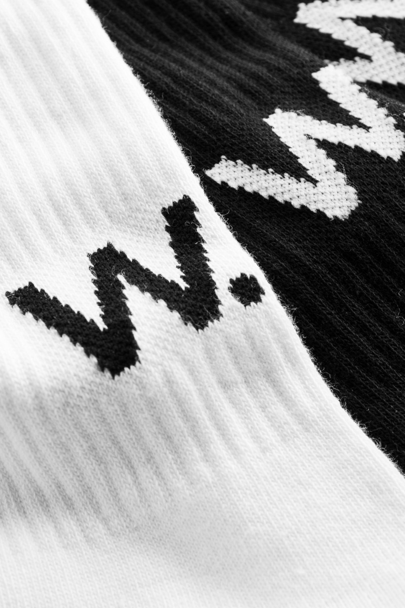 Gail 2-Pack Socks W.W. White Black-2