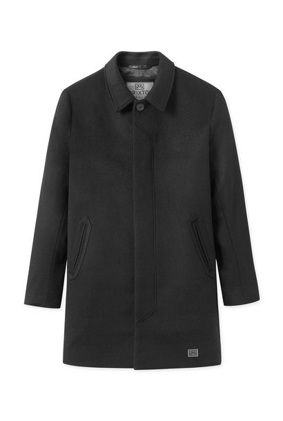 T-Coat Wool Black
