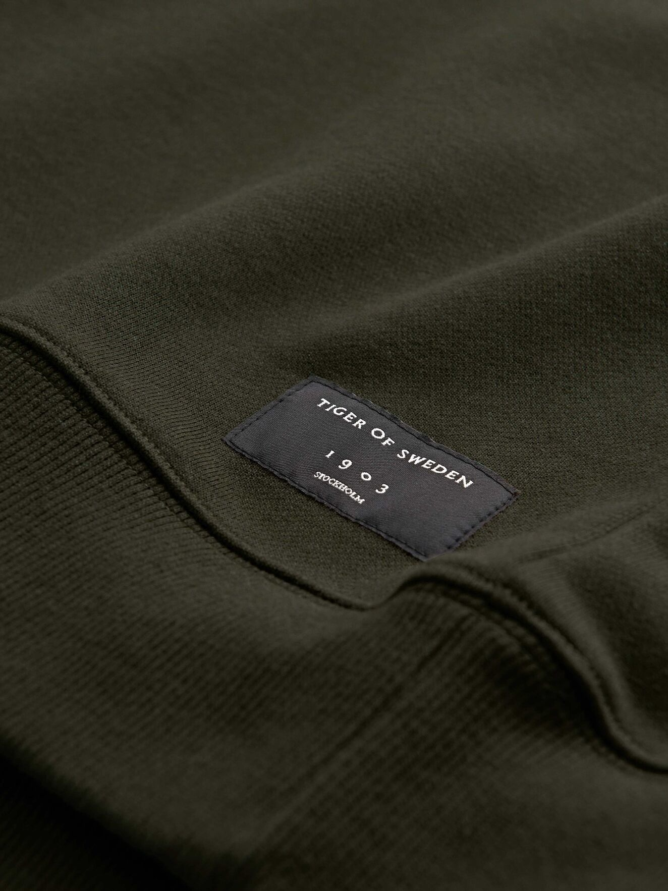 Dinos Military Green Sweatshirt-2