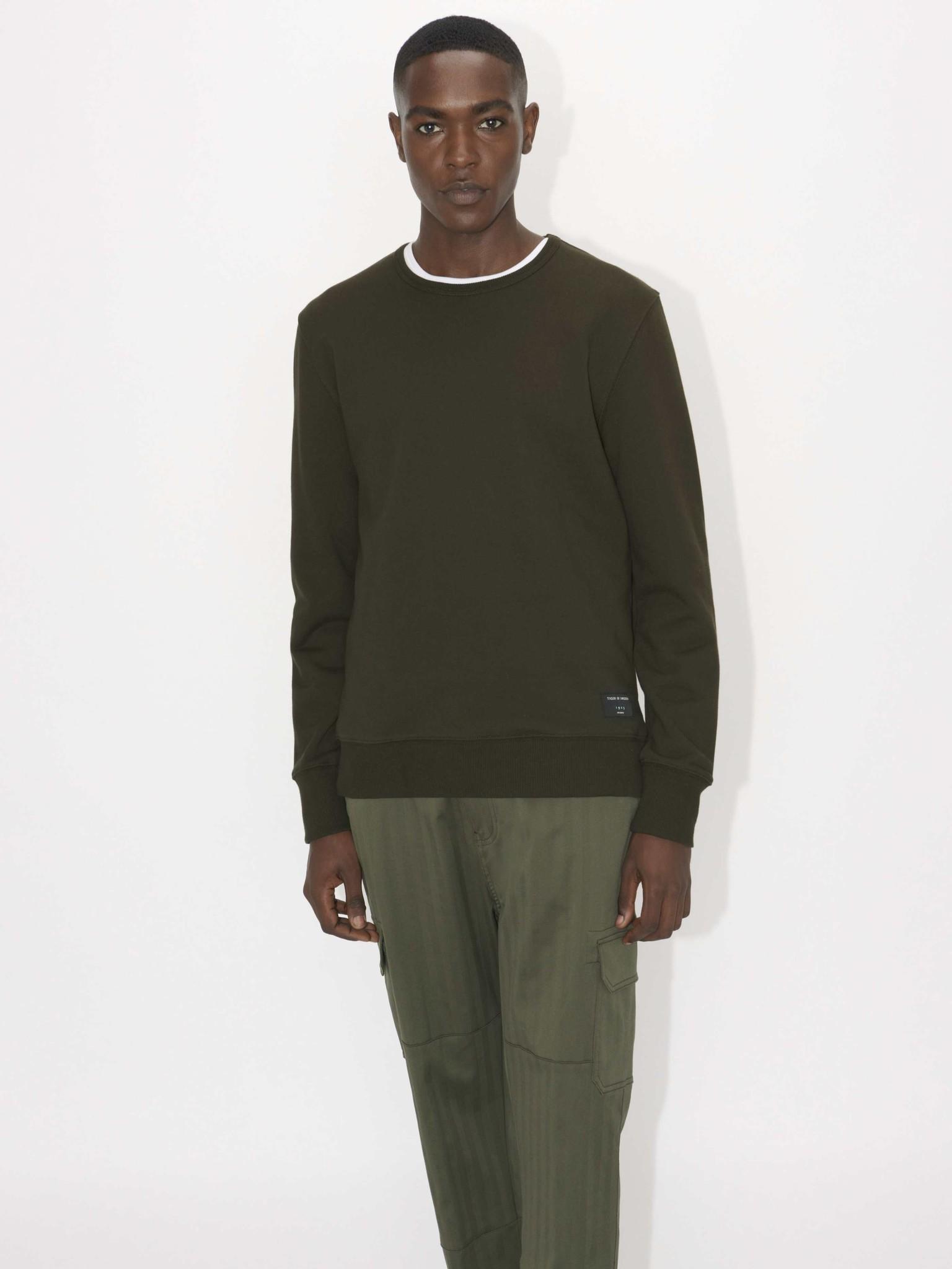 Dinos Military Green Sweatshirt-3