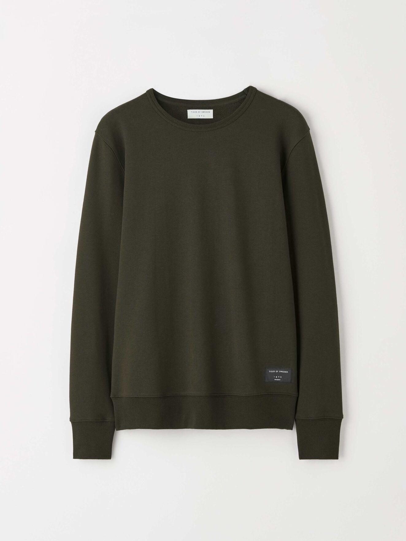 Dinos Military Green Sweatshirt-1