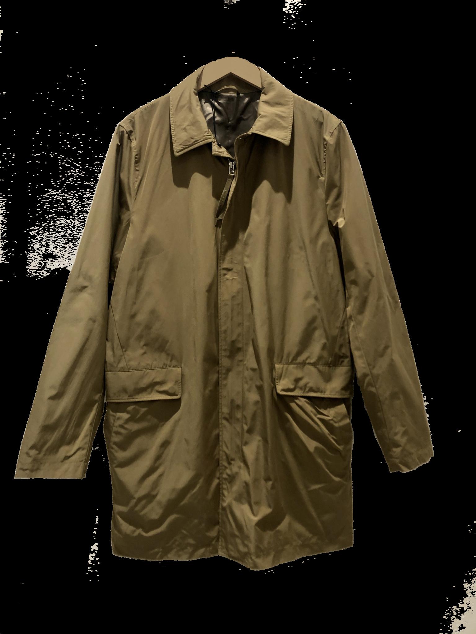 Carlson Caraway Khaki Mac Coat-2