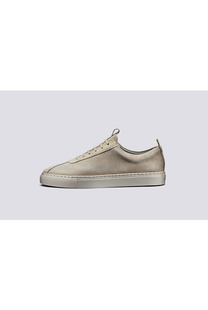 Sneaker 1 Stone Suede Oxfords Leather