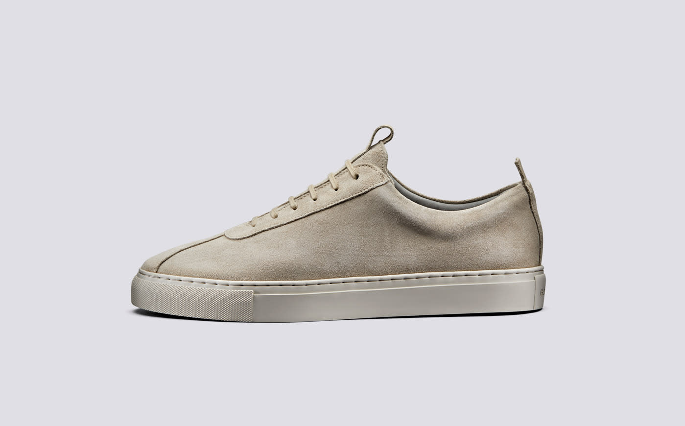 Sneaker 1 Stone Suede Oxfords Leather-2