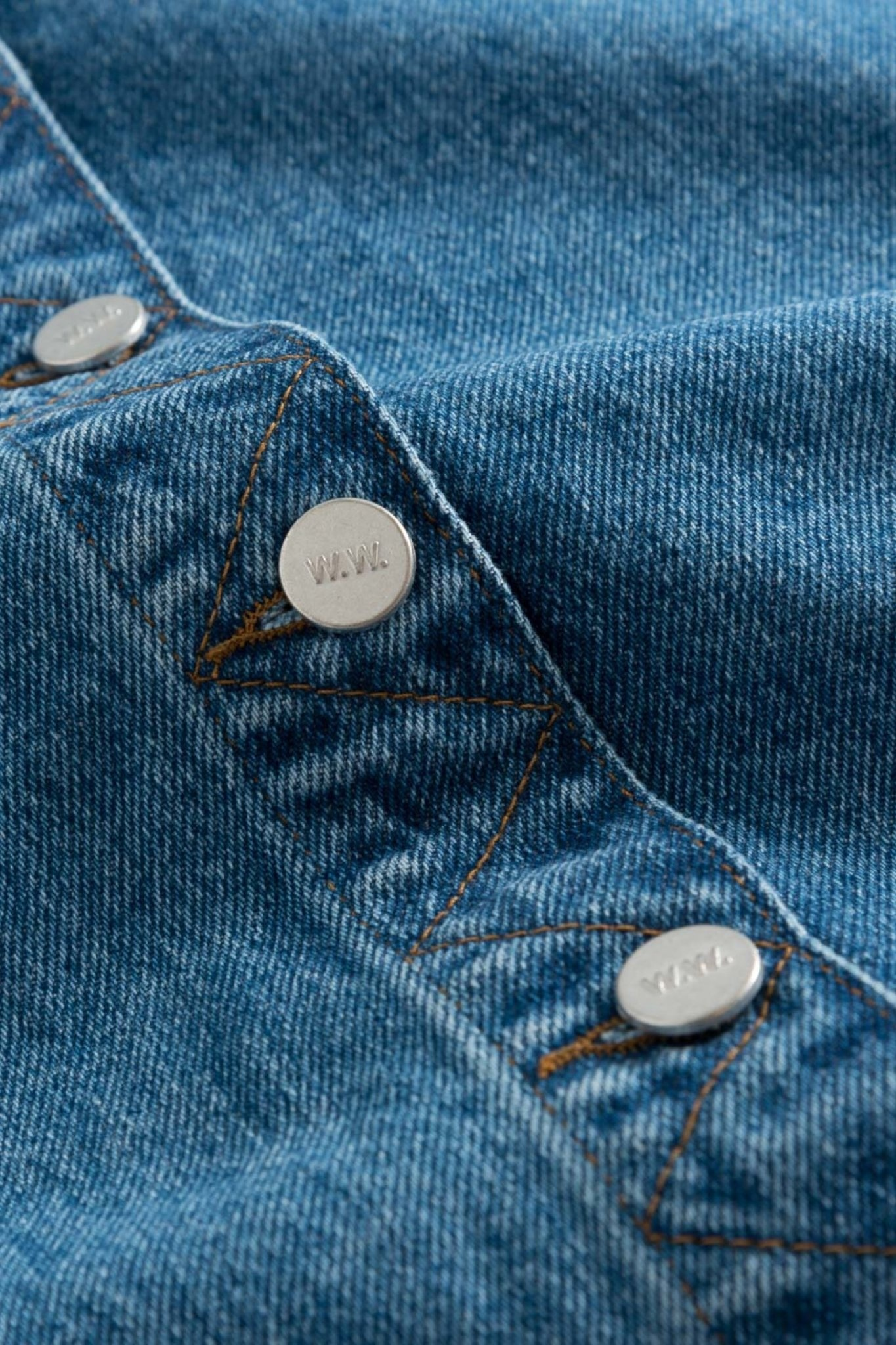 Grit Denim Skirt Classic Vintage Blue-6