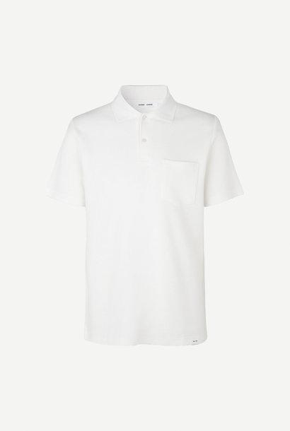 Taranto Cotton Polo Lily White