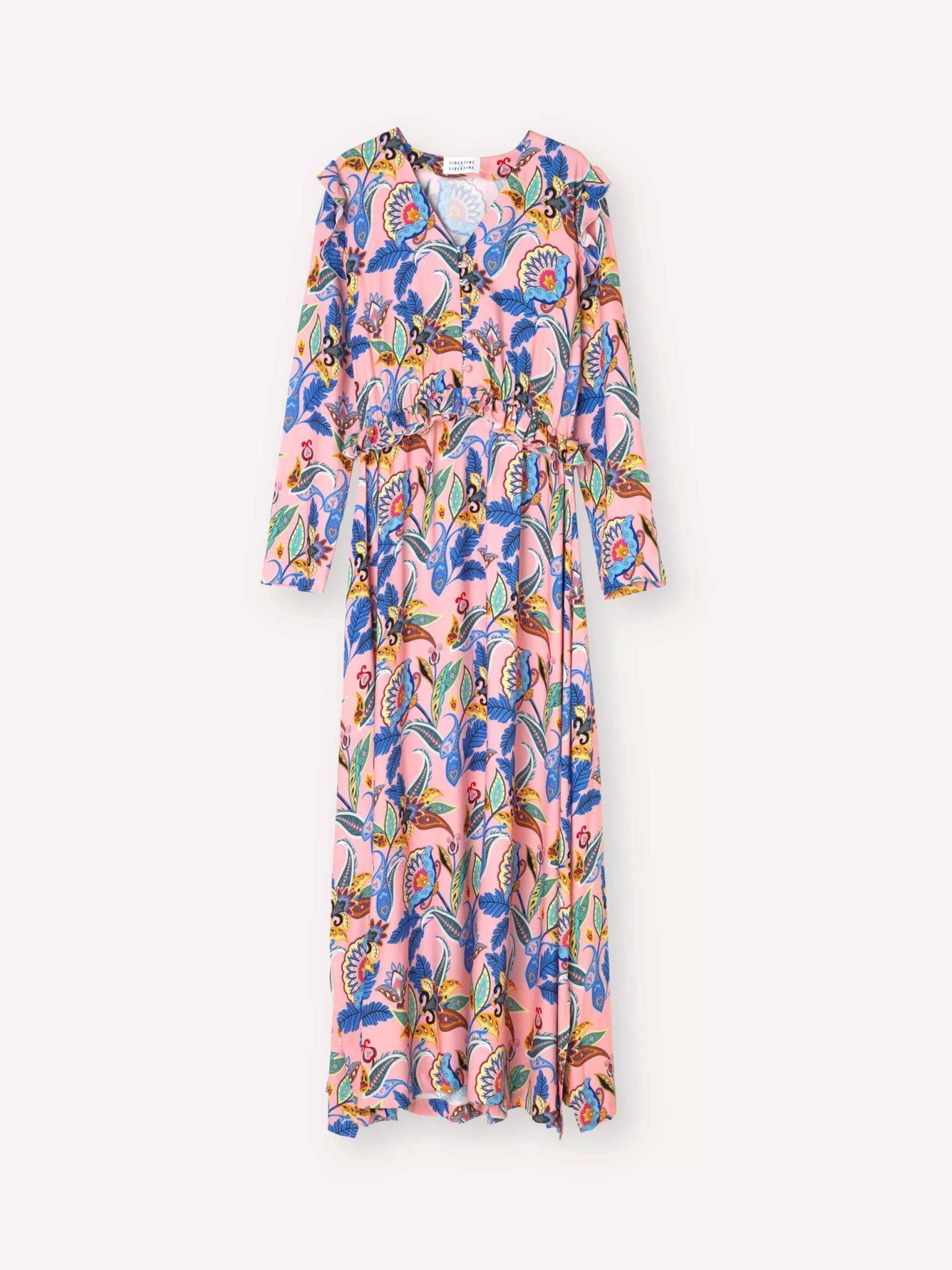 Pearl Dress Powder Jungle Pink-1