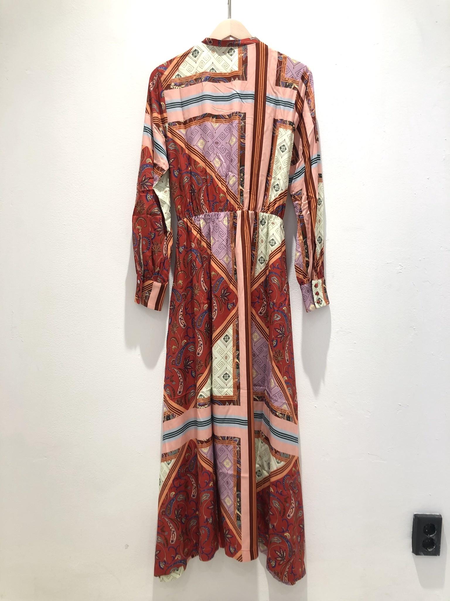 Trun Red Tile Dress-1