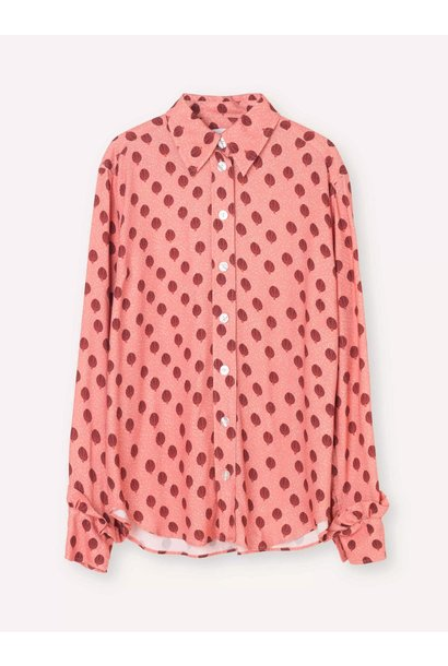Point Rose Ballon Shirt