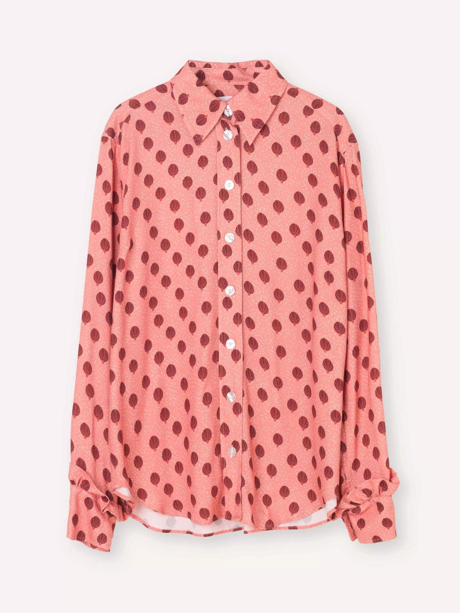 Point Rose Ballon Shirt-2