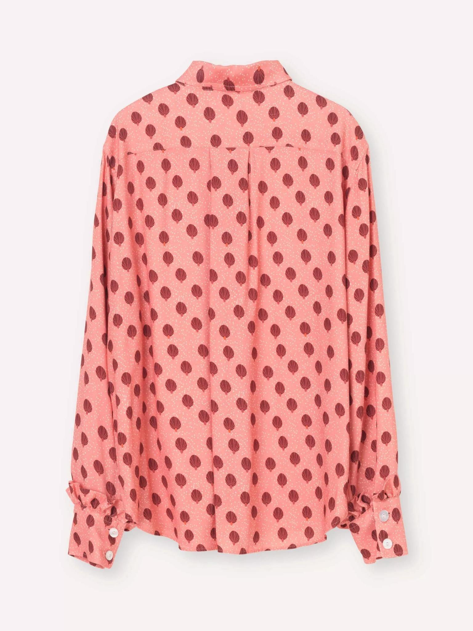 Point Rose Ballon Shirt-5