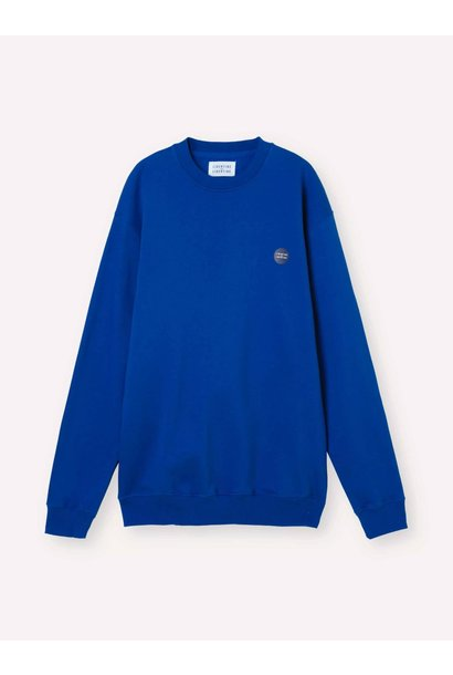 Society Logo Sweatshirt HQ Blue