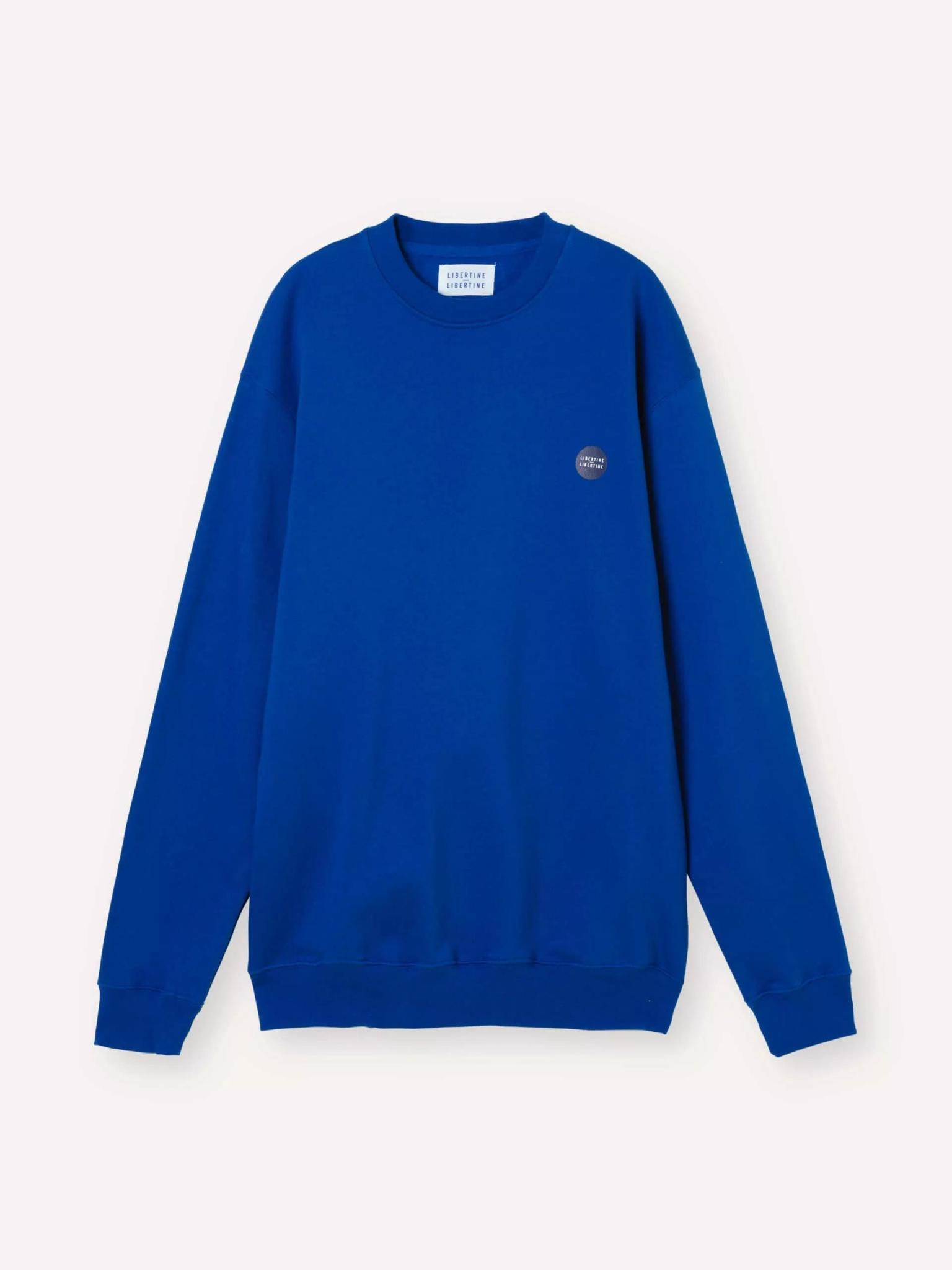 Society Logo Sweatshirt HQ Blue-1