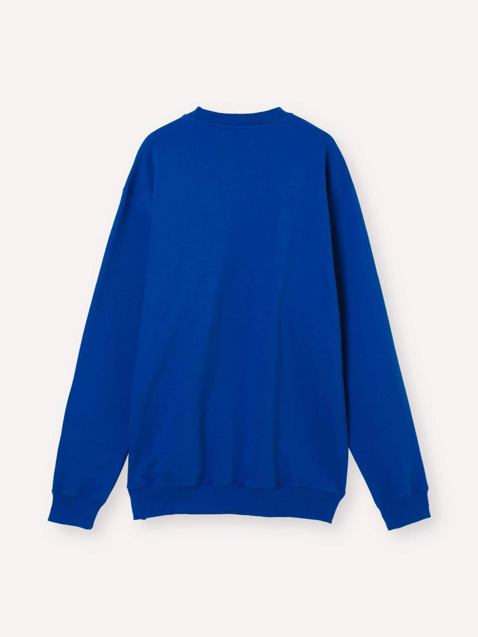 Society Logo Sweatshirt HQ Blue-3