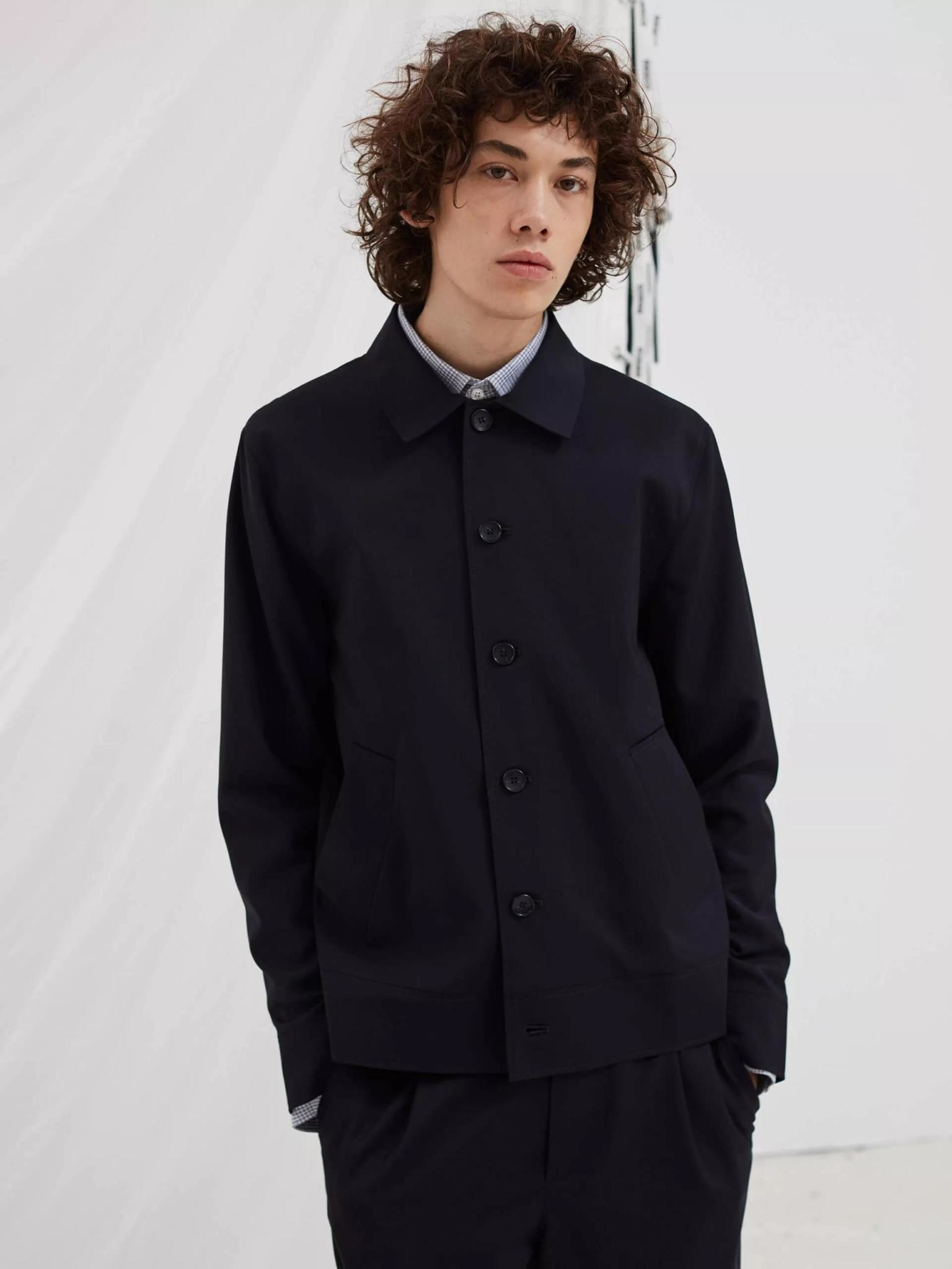 Voice Summer Jacket Dark Navy-2