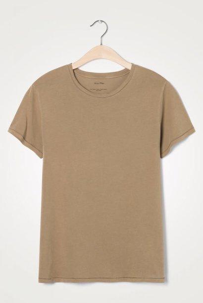 Vegiflower Camel Brown T-shirt