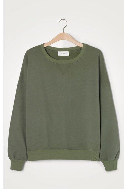 Wititi Oversize Sweater Stem Khaki Green