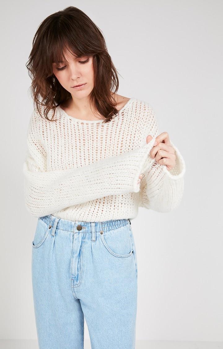 Piuroad Wool Knitwear Off White-2