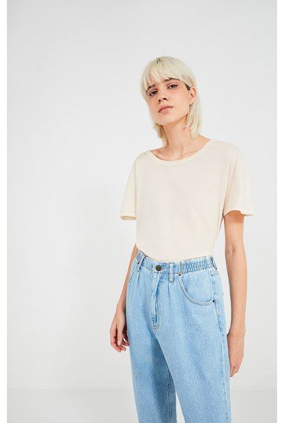 Blin Blue Jeans Cropped Loos Tapperd