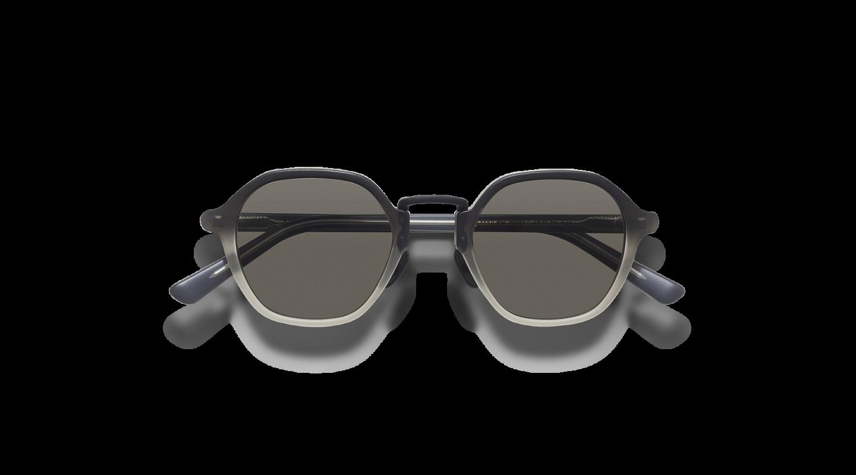Mailey Black Gradient Japanese Sunglasses-1