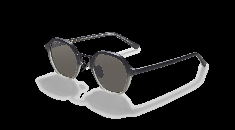 Mailey Black Gradient Japanese Sunglasses-2