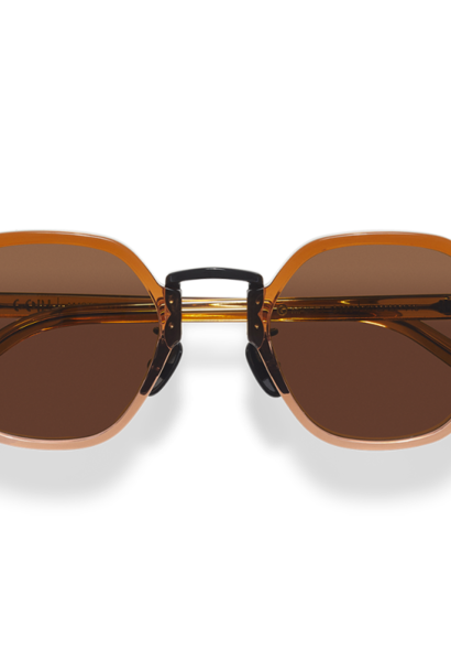 Mailey Brown Gradient Japanese Sunglasses