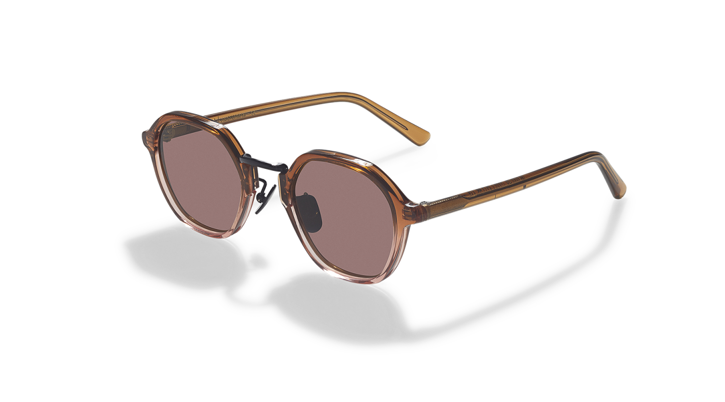 Mailey Brown Gradient Japanese Sunglasses-3