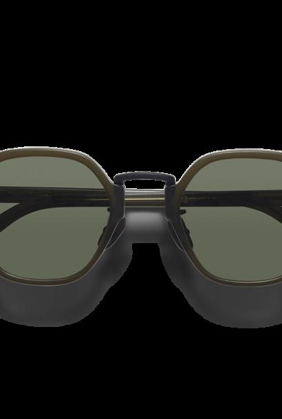 Mailey Dark Green Japanese Sunglasses