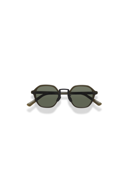 Mailey Dark Green Japanese Sunglasses