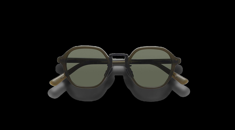 Mailey Dark Green Japanese Sunglasses-1