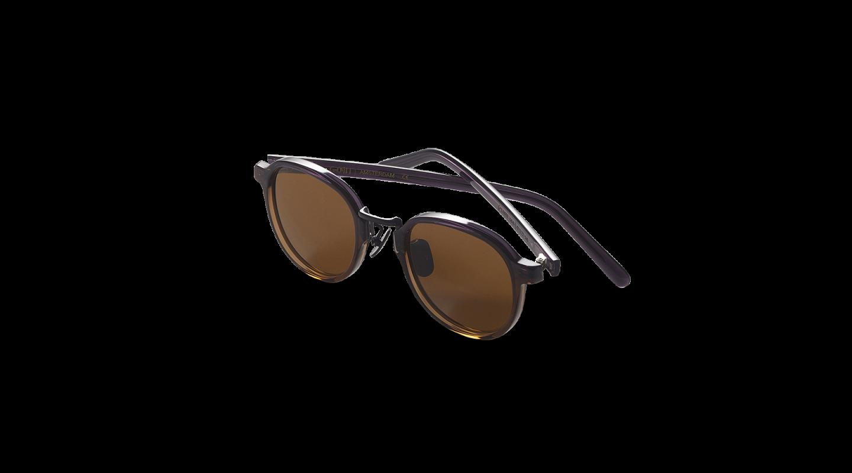 Lasse Purple Graident Japanese Sunglasses-2