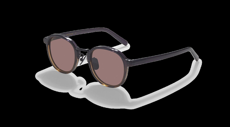 Lasse Purple Graident Japanese Sunglasses-3