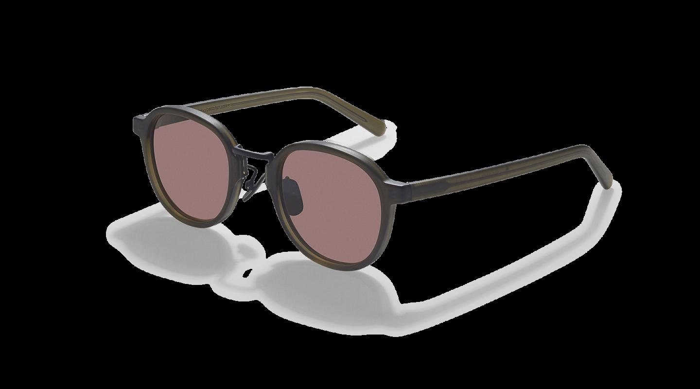 Lasse Dark Green Japanese Sunglasses-3