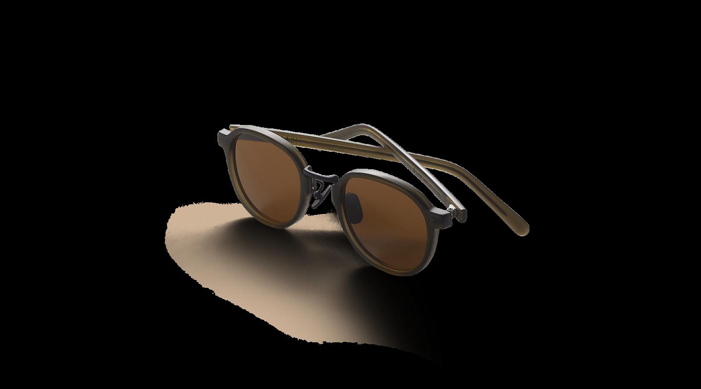 Lasse Dark Green Japanese Sunglasses-2