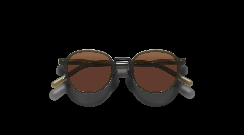 Lasse Dark Green Japanese Sunglasses-1