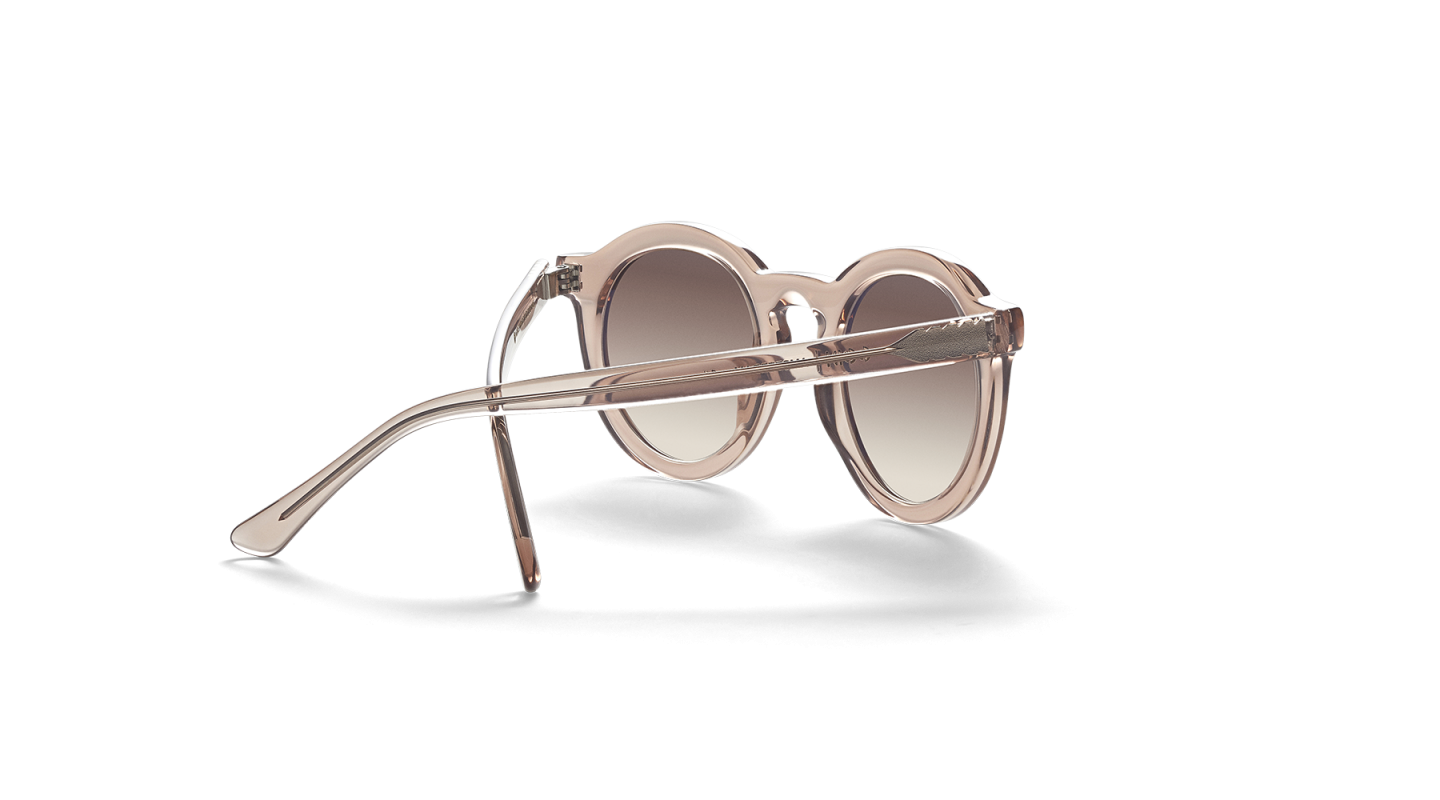 Aurel Light Pink Polished Sunglasses-3