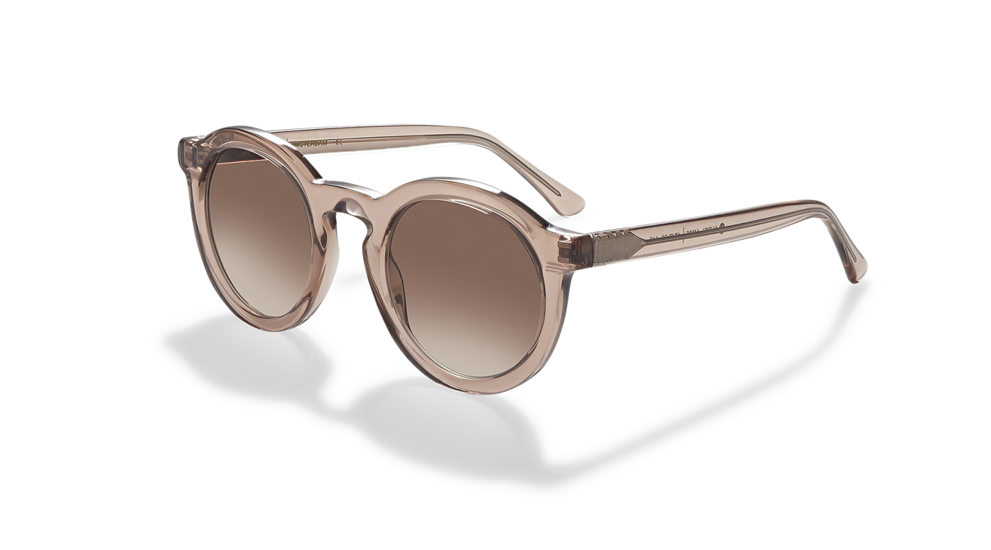 Aurel Light Pink Polished Sunglasses-2