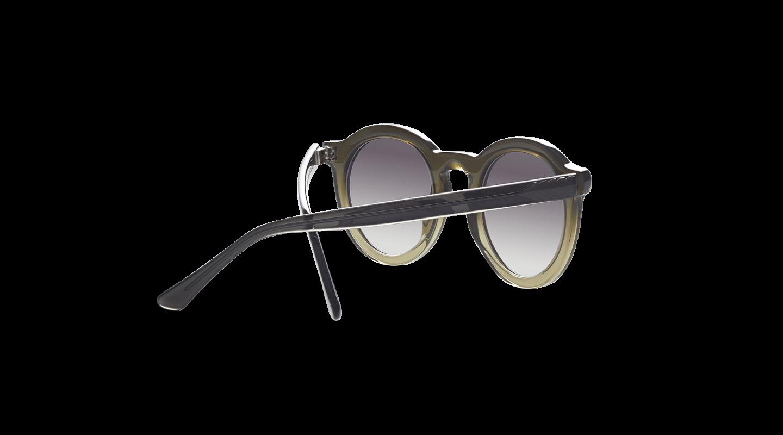Aurel Green Gradient Sunglasses-3