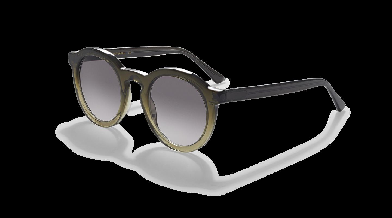 Aurel Green Gradient Sunglasses-2