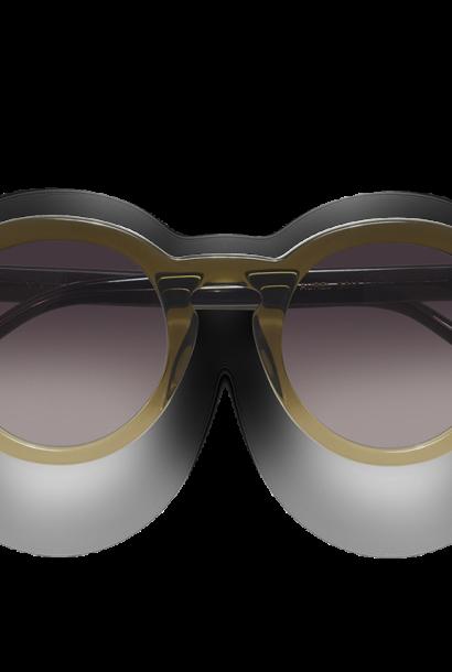 Aurel Green Gradient Sunglasses