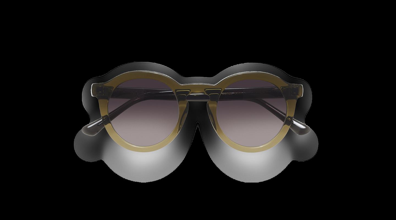 Aurel Green Gradient Sunglasses-1
