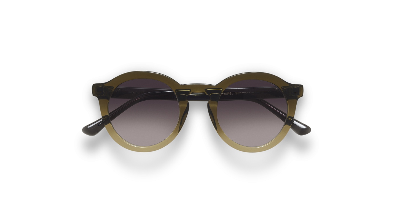 Aurel Green Gradient Sunglasses-4