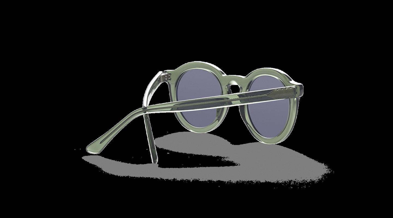 Aurel light Green Sunglasses-3