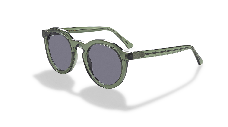 Aurel light Green Sunglasses-2