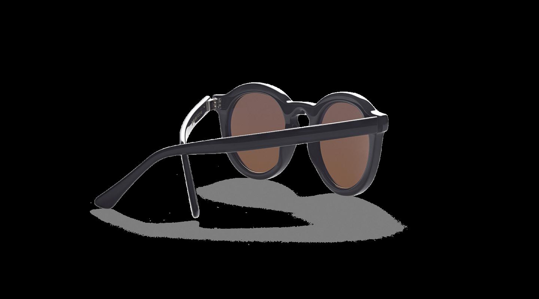 Aurel Black Polished Sunglasses-2