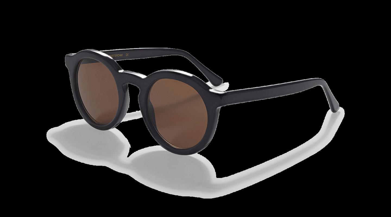 Aurel Black Polished Sunglasses-3