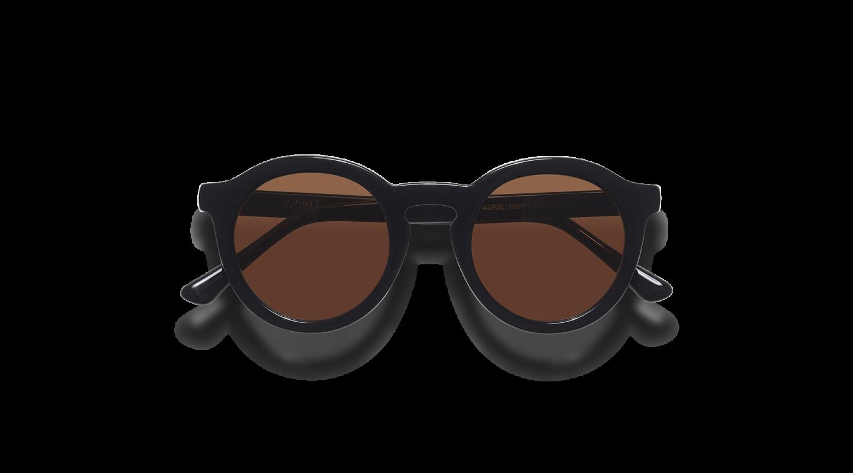 Aurel Black Polished Sunglasses-1